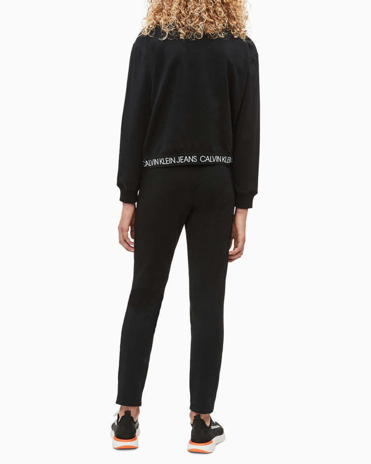 CALVIN KLEIN GIRLS' LOGO WAISTBAND SWEATPANTS