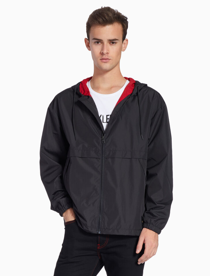 CALVIN KLEIN LIGHTWEIGHT ZIP UP JACKET