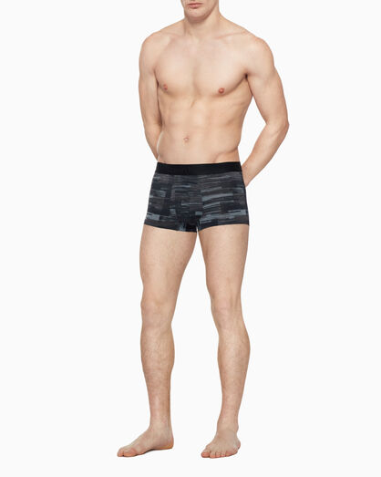 CALVIN KLEIN CK BLACK PRINT LOW RISE TRUNK