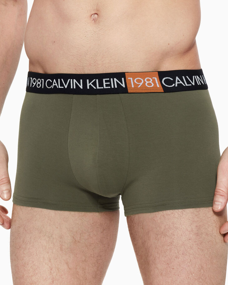 CALVIN KLEIN 1981 BOLD COTTON TRUNK
