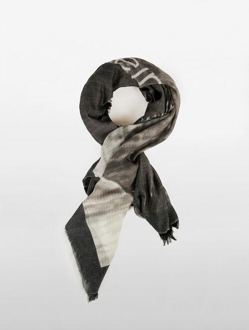 CALVIN KLEIN ブラッシュストローク スカーフ