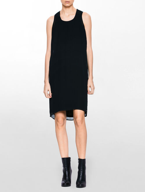 CALVIN KLEIN DARIA RACER BACK DRESS