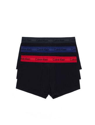 CALVIN KLEIN COTTON STRETCH 低腰貼身短版四角褲