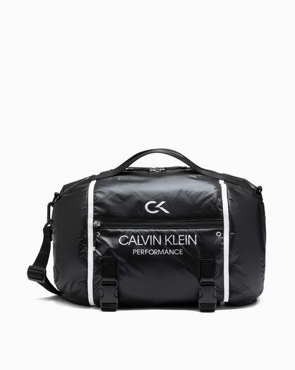 CALVIN KLEIN CIRCLED DUFFLE BAG