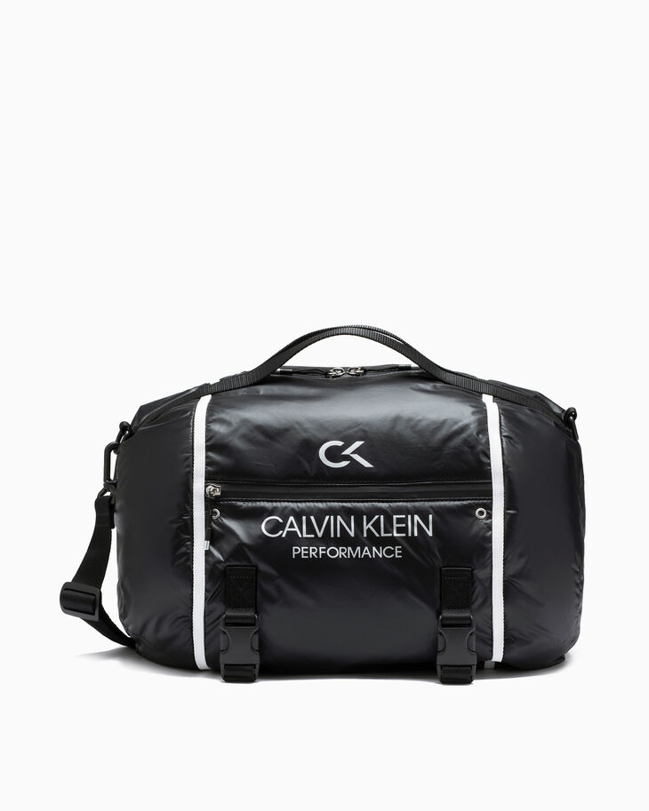 CALVIN KLEIN CIRCLED DUFFLE BAG