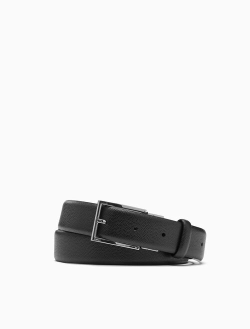 CALVIN KLEIN REVERSIBLE DRESS BUCKLE 腰帶
