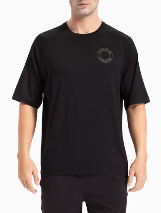 CALVIN KLEIN COLLEGE LOGO TEE WITH SHORT SLEEVES