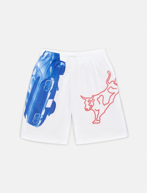 CALVIN KLEIN GRAPHIC DRAWSTRING SHORTS