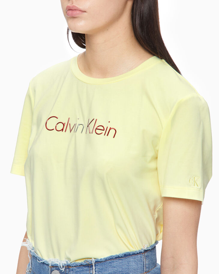 CALVIN KLEIN GRADIENT LOGO TEE