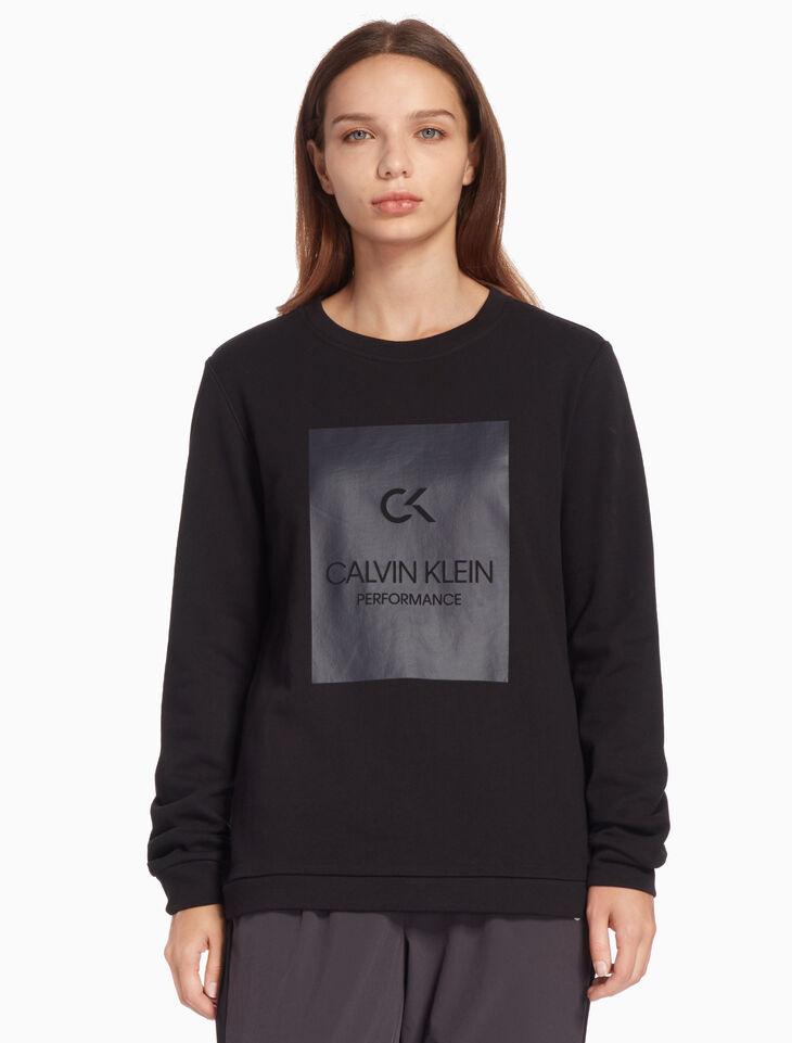 CALVIN KLEIN BILLBOARD プルオーバースウェットシャツ