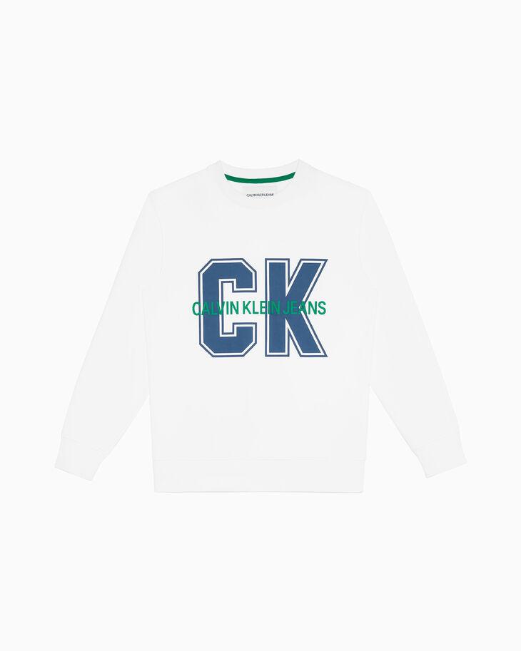CALVIN KLEIN 로고 스웨트셔츠