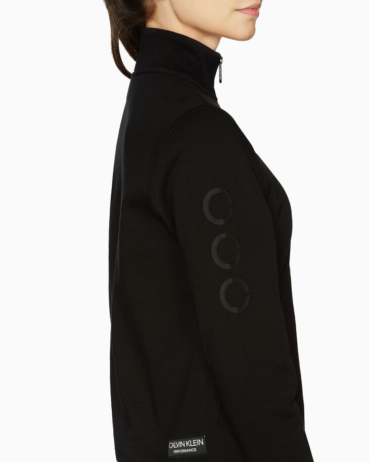 CALVIN KLEIN GRAPHICS ZIP UP JACKET