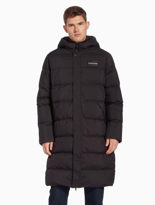 CALVIN KLEIN 롱 파카 퍼퍼 재킷