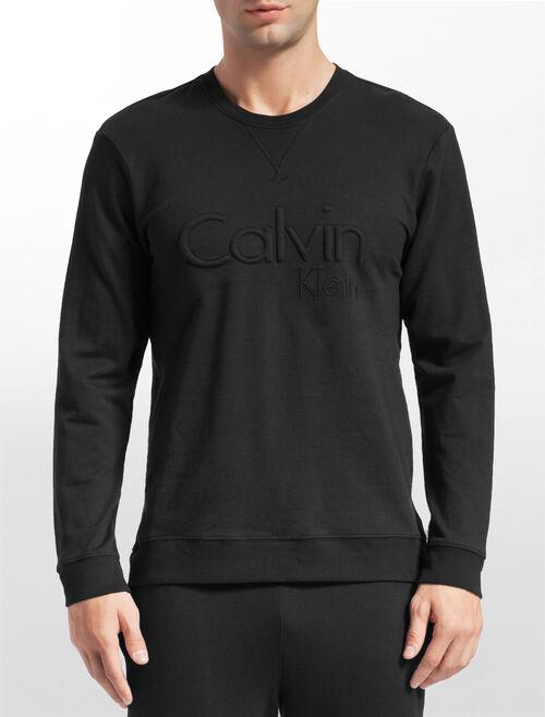 CALVIN KLEIN エンブロイダリー ロゴ スウェットシャツ