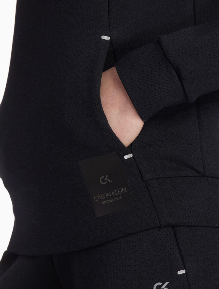CALVIN KLEIN MODERN SWEAT SPACER プルオーバースウェットシャツ