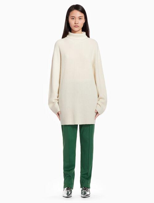 CALVIN KLEIN Long turtleneck pullover sweater