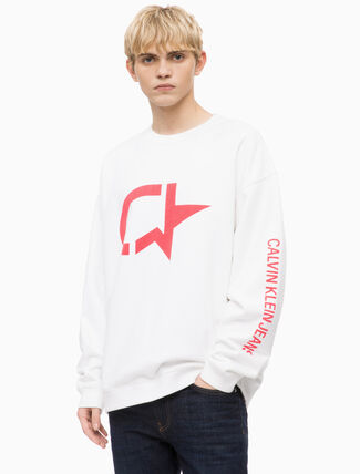 CALVIN KLEIN GRAPHIC SWEATSHIRT