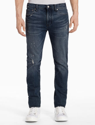 CALVIN KLEIN CKJ 026 MEN SLIM KINGPIN BLUE JEANS