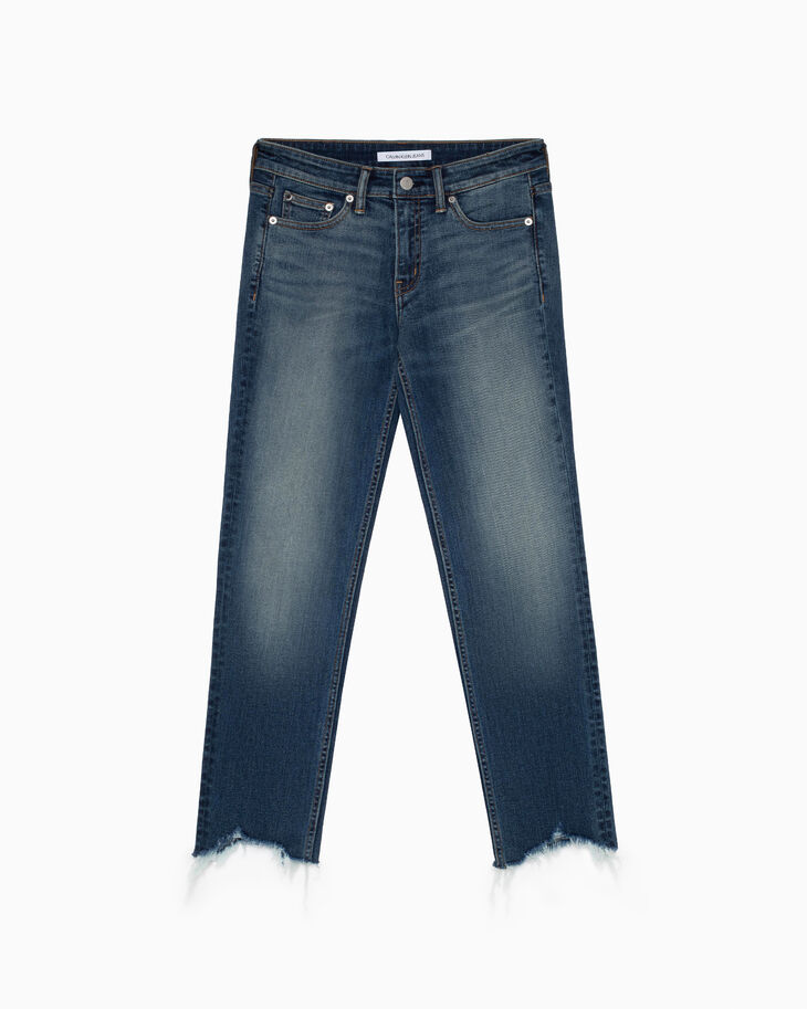 CALVIN KLEIN SLIM STRAIGHT ANKLE ジーンズ