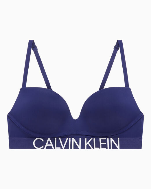 CALVIN KLEIN 여성 스테이트먼트 1981 마이크로 푸쉬업 브라렛