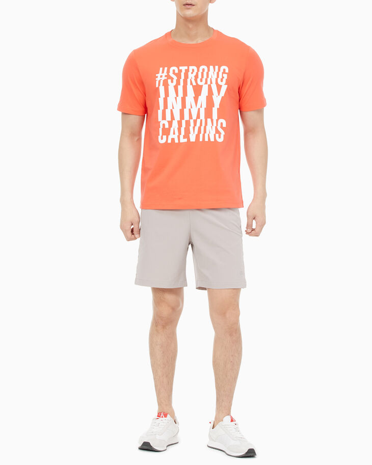 CALVIN KLEIN STATEMENT ESSENTIALS GRAPHIC TEE