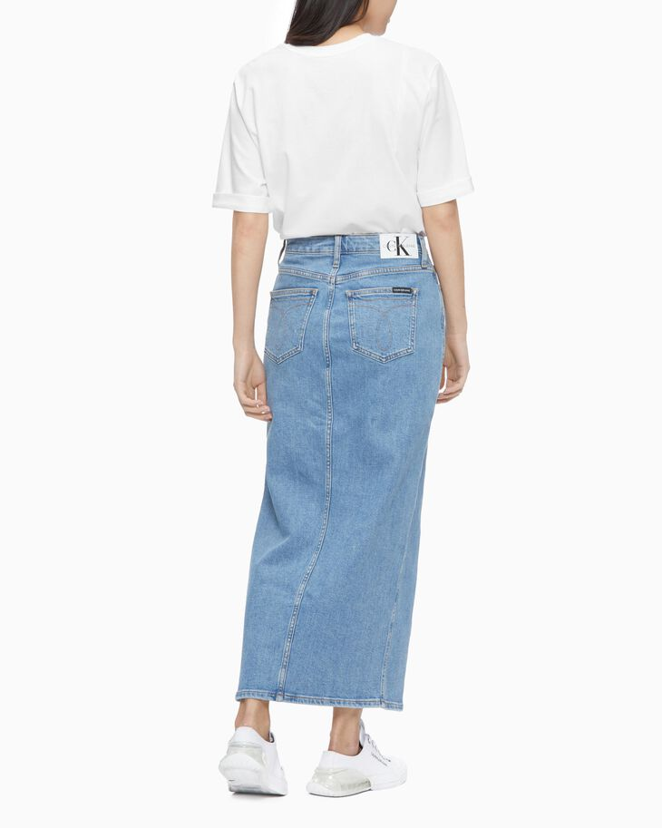 CALVIN KLEIN SUSTAINABLE ICONS MAXI SKIRT