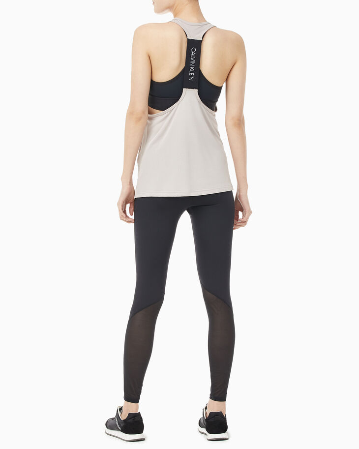 CALVIN KLEIN ACTIVE ICON MESH BACK TANK TOP