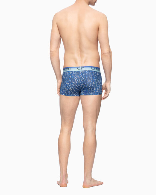 CALVIN KLEIN JAWS HORIZON MICRO LOW RISE TRUNKS