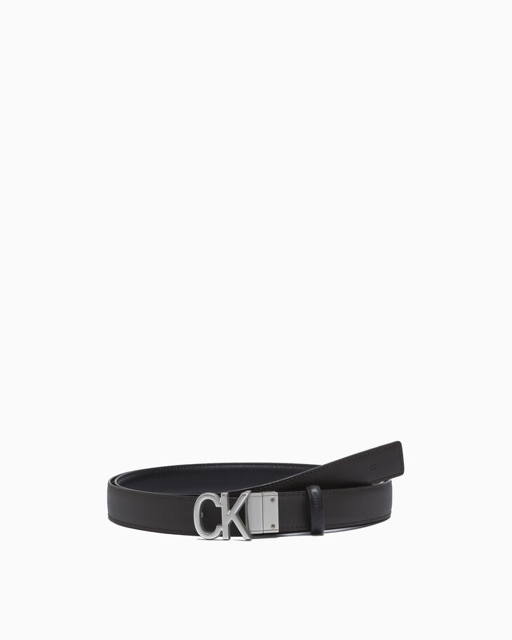 CALVIN KLEIN CK BUCKLE REVERSIBLE BELT 24MM