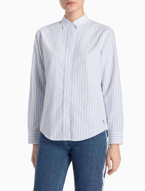 CALVIN KLEIN WILBA 옥스퍼드 셔츠