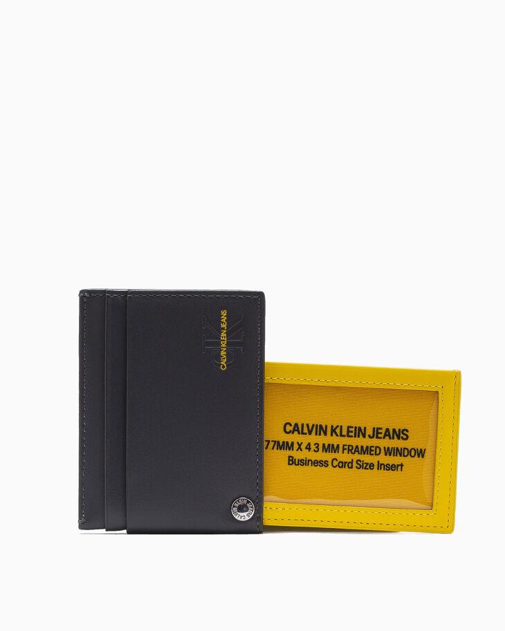 CALVIN KLEIN UNDERCOVER SWIVEL CARD CASE