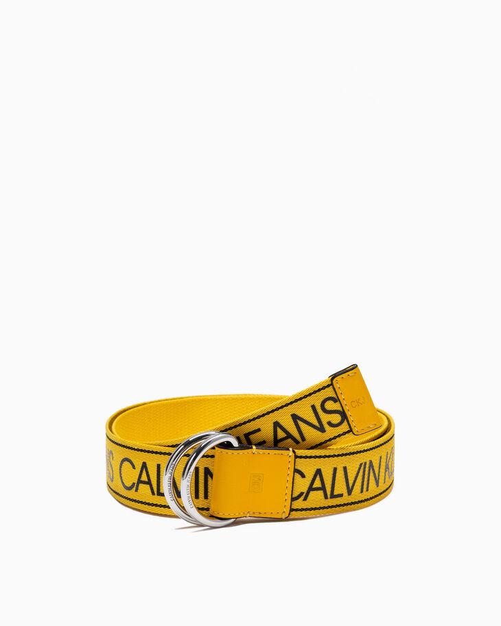 CALVIN KLEIN UTILITY DOUBLE D RING BELT 40MM