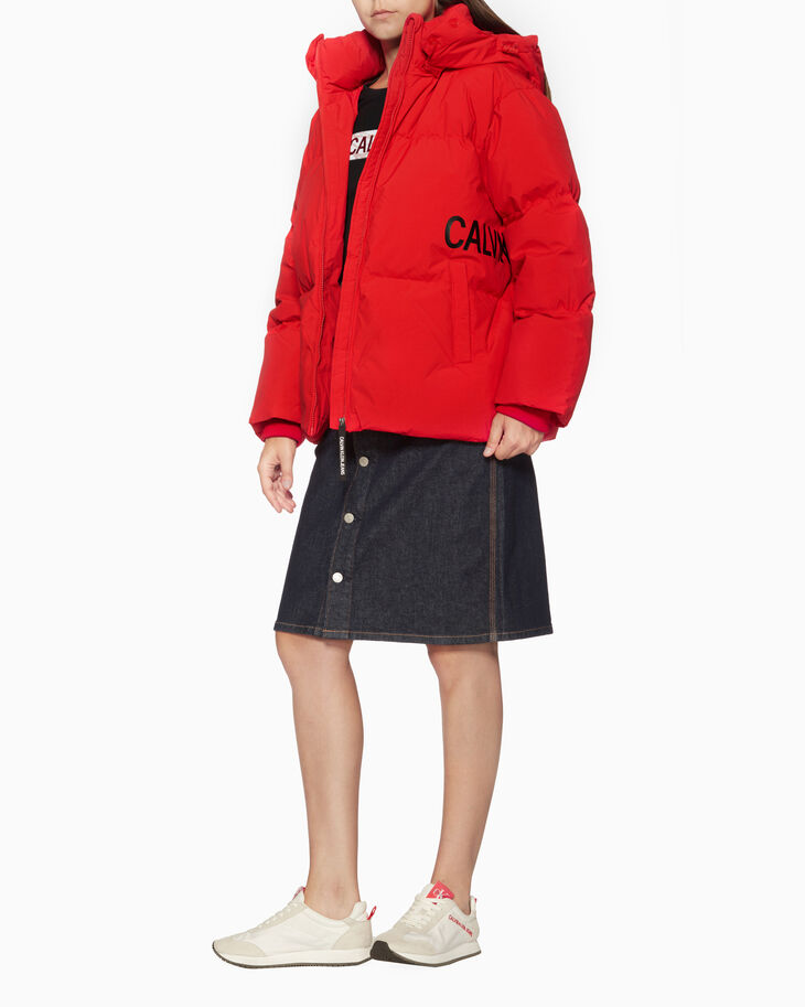 CALVIN KLEIN オーバーサイズ ダウン パファージャケット