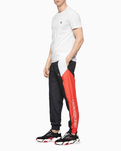 CALVIN KLEIN COLOR BLOCK TRACK PANTS
