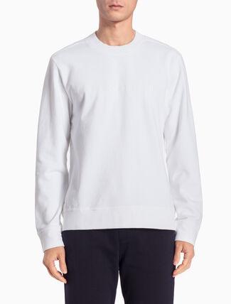 CALVIN KLEIN ロゴ プルオーバースウェットシャツ