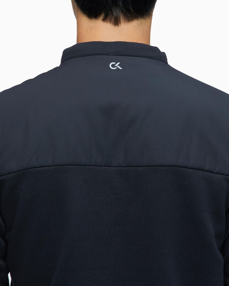 CALVIN KLEIN PADDED JACKET WITH DETACHABLE HOOD