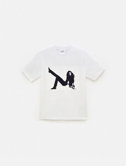 CALVIN KLEIN EST 1978 ICON プリント付 クルーネック Tシャツ