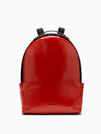 CALVIN KLEIN GLOSSY CAMPUS BACKPACK