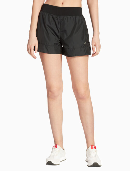 d58b2a4990 CALVIN KLEIN WOVEN SHORTS WITH RIBBED WAISTBAND Quickshop. CALVIN KLEIN  PERFORMANCE
