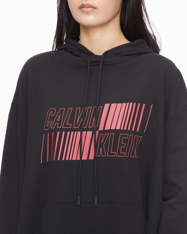 CALVIN KLEIN UTILITY STRONG HOODED DRESS