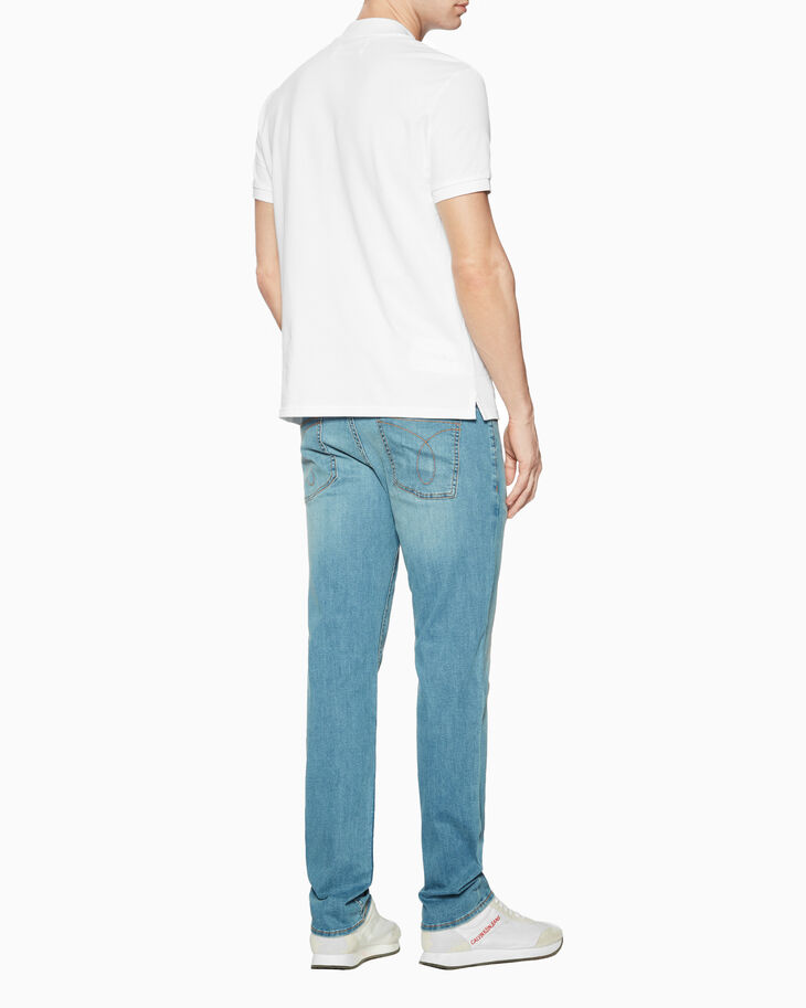 CALVIN KLEIN PIMA COTTON POLO SHIRT