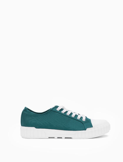 CALVIN KLEIN BEATO LACE UP SNEAKERS