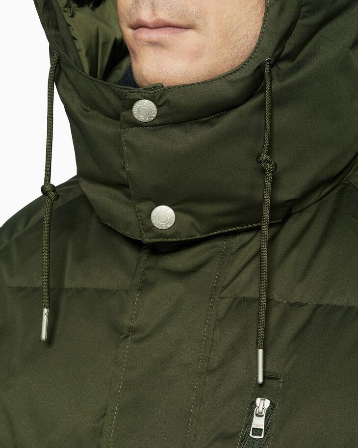 CALVIN KLEIN GOOSE DOWN 보머 재킷