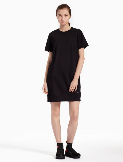 CALVIN KLEIN LOGO SWEAT DRESS