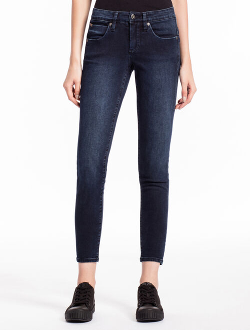 CALVIN KLEIN SMOKED INK BODY ANKLE JEANS