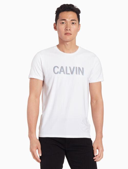 CALVIN KLEIN CALVIN ロゴ スリム T シャツ