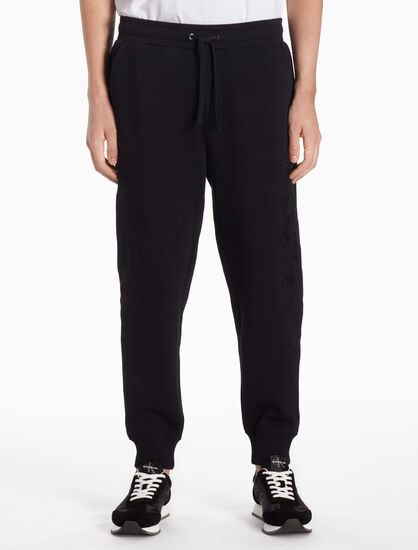 CALVIN KLEIN PREMIUM FLOWER EMBROIDERY SWEAT PANTS