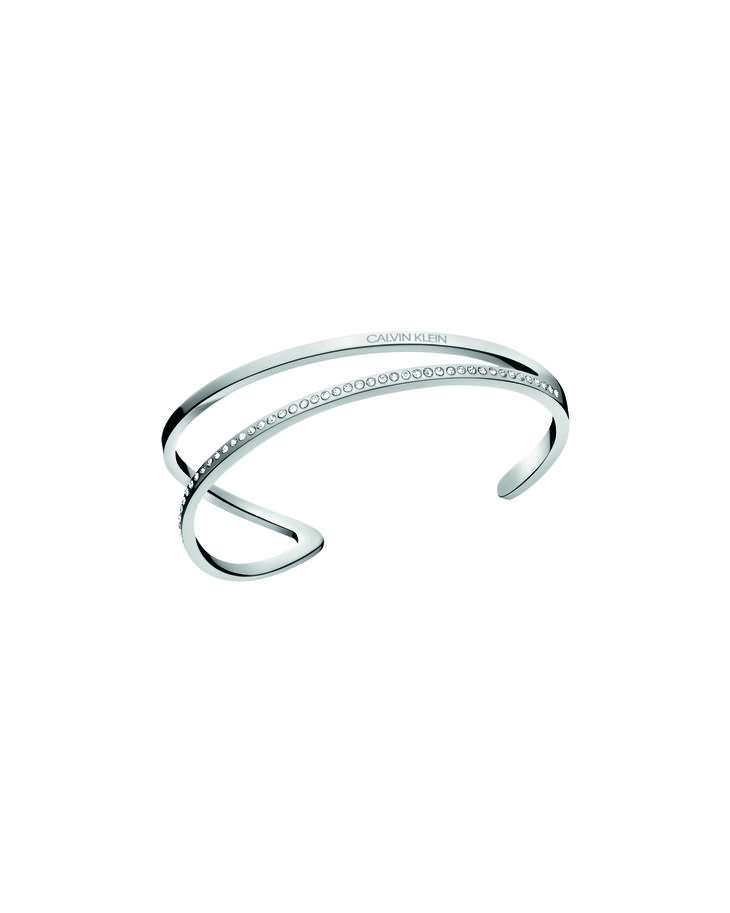 CALVIN KLEIN OUTLINE OPEN BANGLE