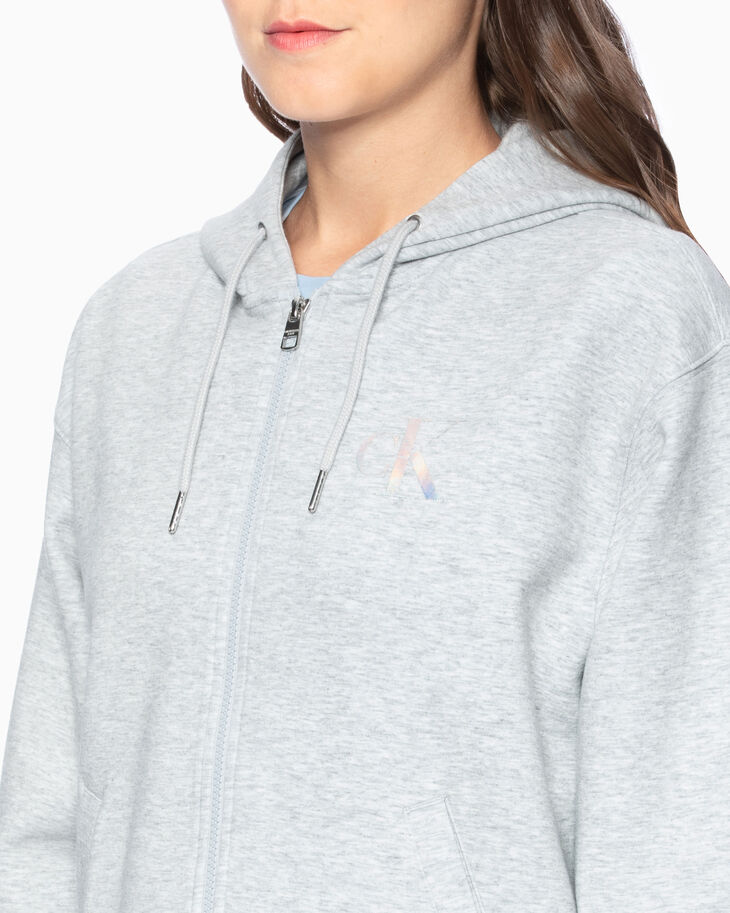 CALVIN KLEIN MONOGRAM ZIP UP 후디