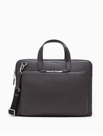 CALVIN KLEIN ENGINEERED BUSINESS PORTFOLIO BRIEFCASE